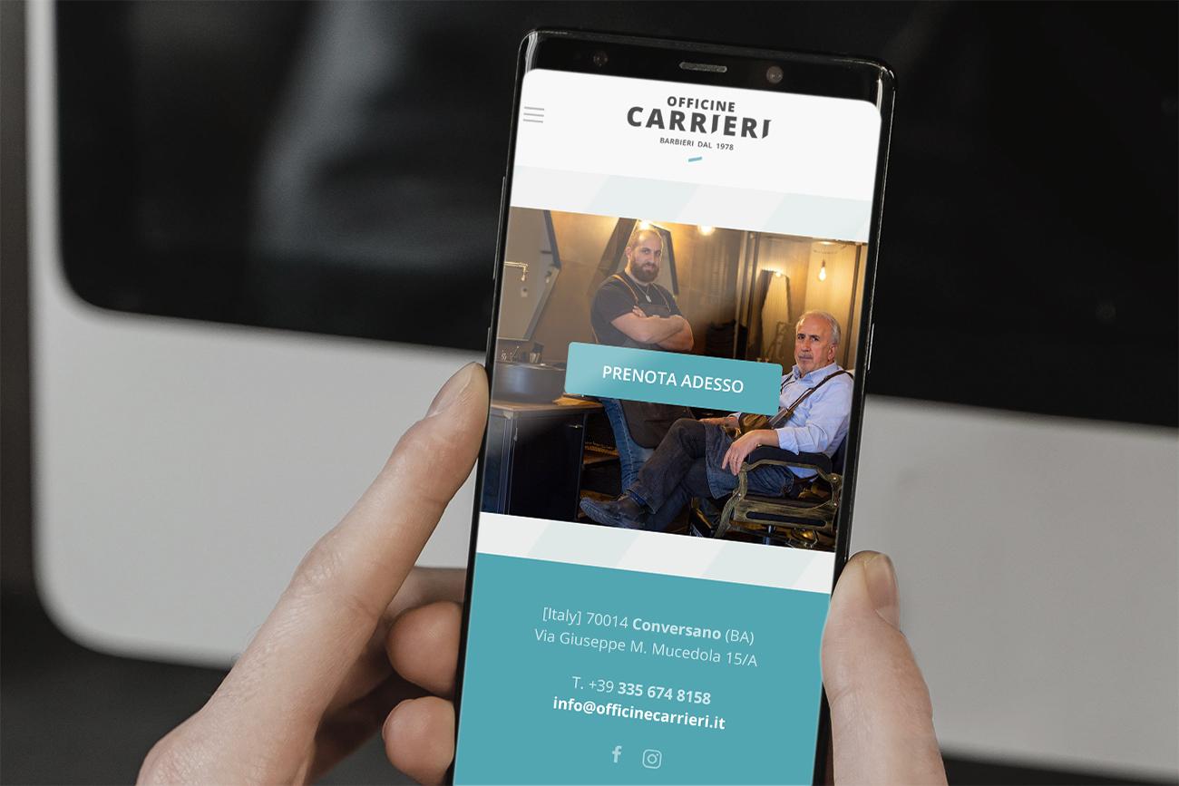 Officine Carrieri, prenotazioni online e new brand